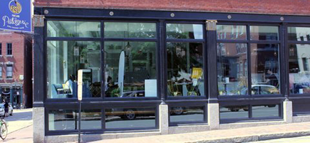 Commercial Grade Storefronts And Glass Rich Exterior
